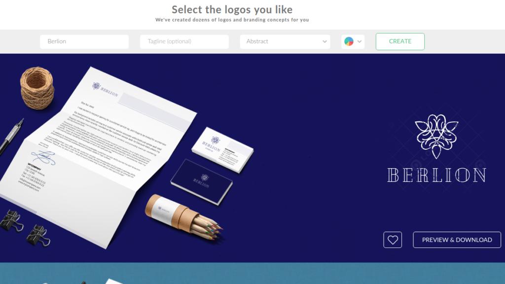 Logaster Online Logo Builder