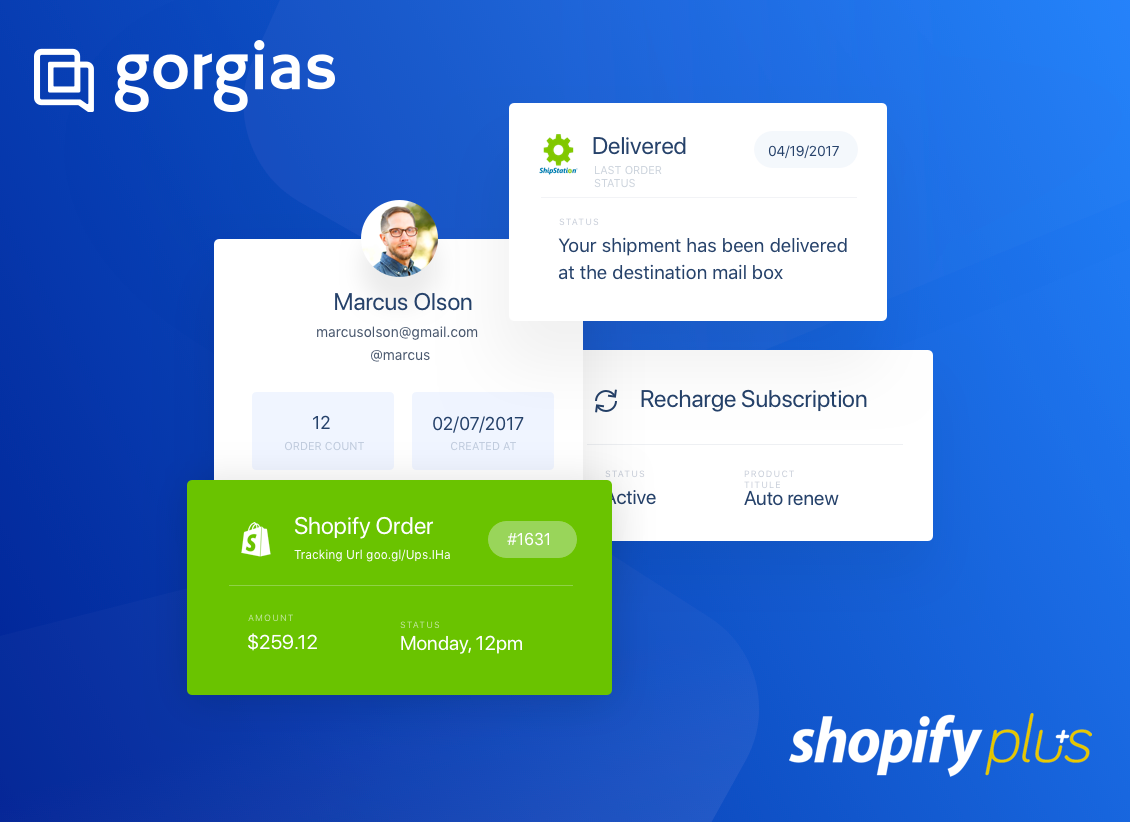 Shopify live chat app