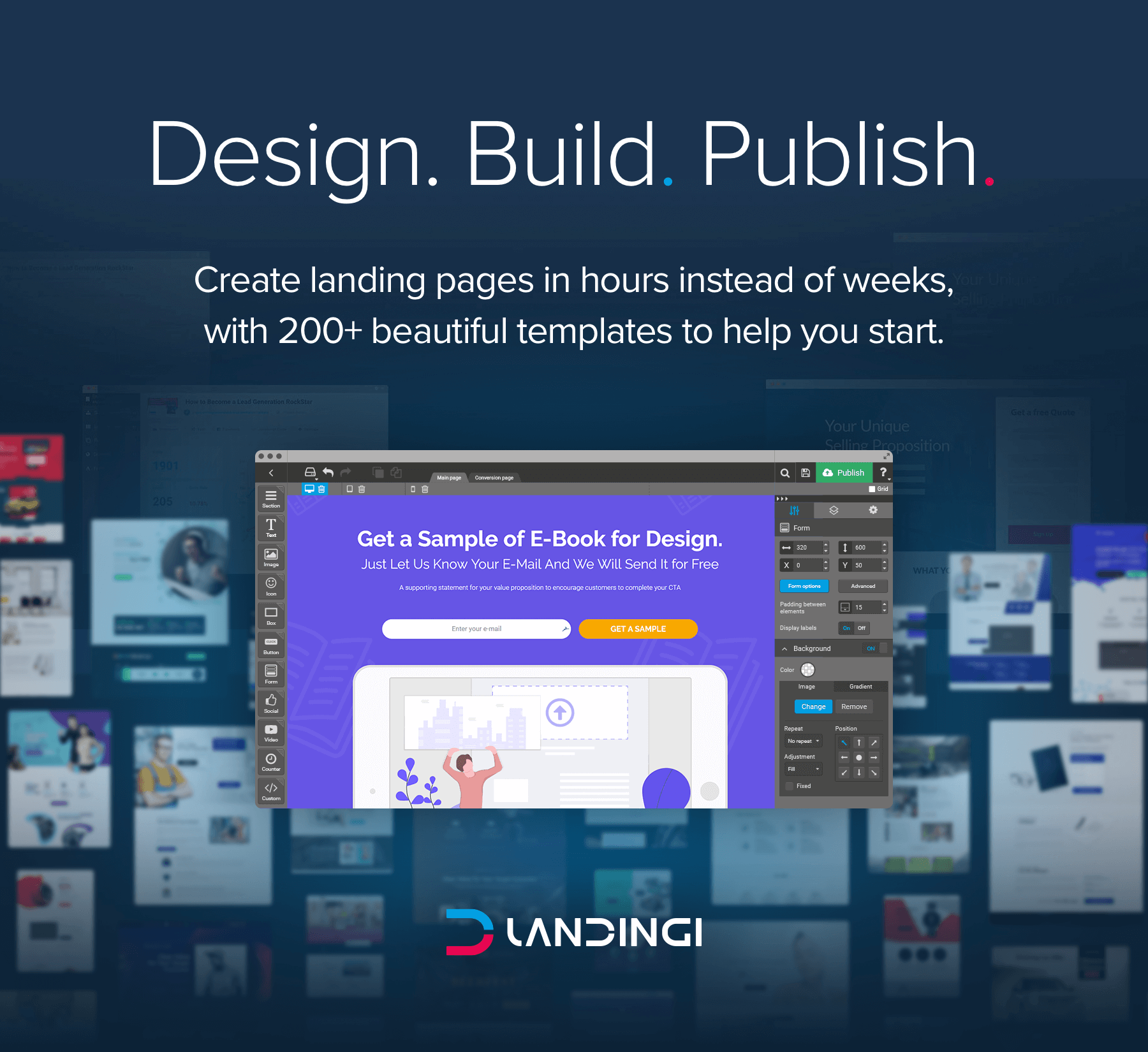 Landingi - A Powerful Landing Page Builder