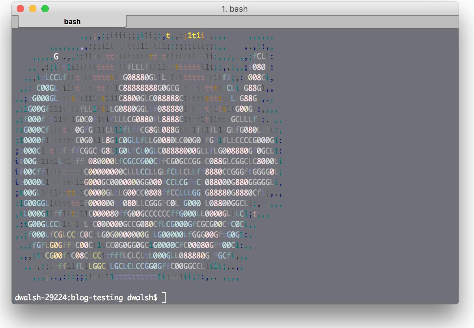Wow ascii art home design for Ascii text decoration