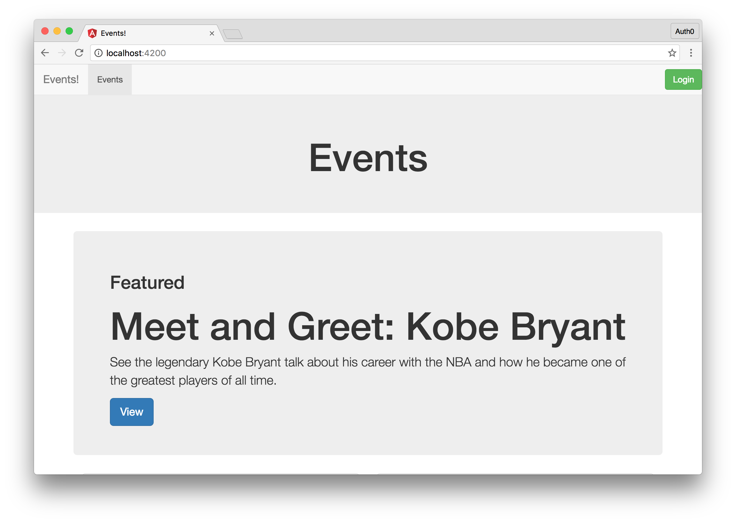 Building Ambitious Web Applications with Ember.js