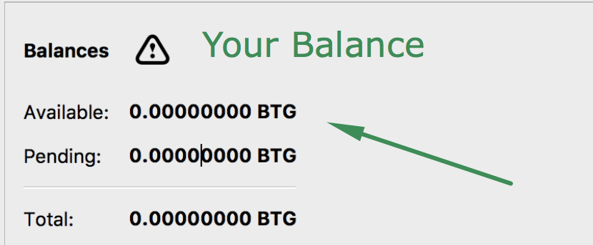 Bitcoin Gold  - bitcoin gold balance - How to Recover Bitcoin Gold