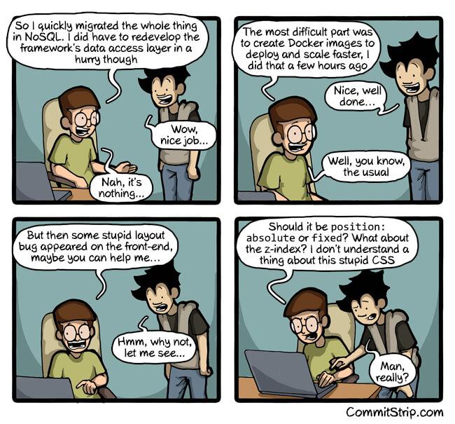 CSS Comic