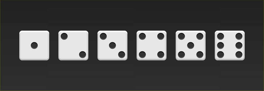 The Six Dice Faces