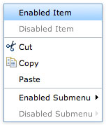 Create a Context Menu with Dojo and Dijit
