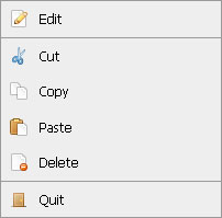dwContext: MooTools Context Menu