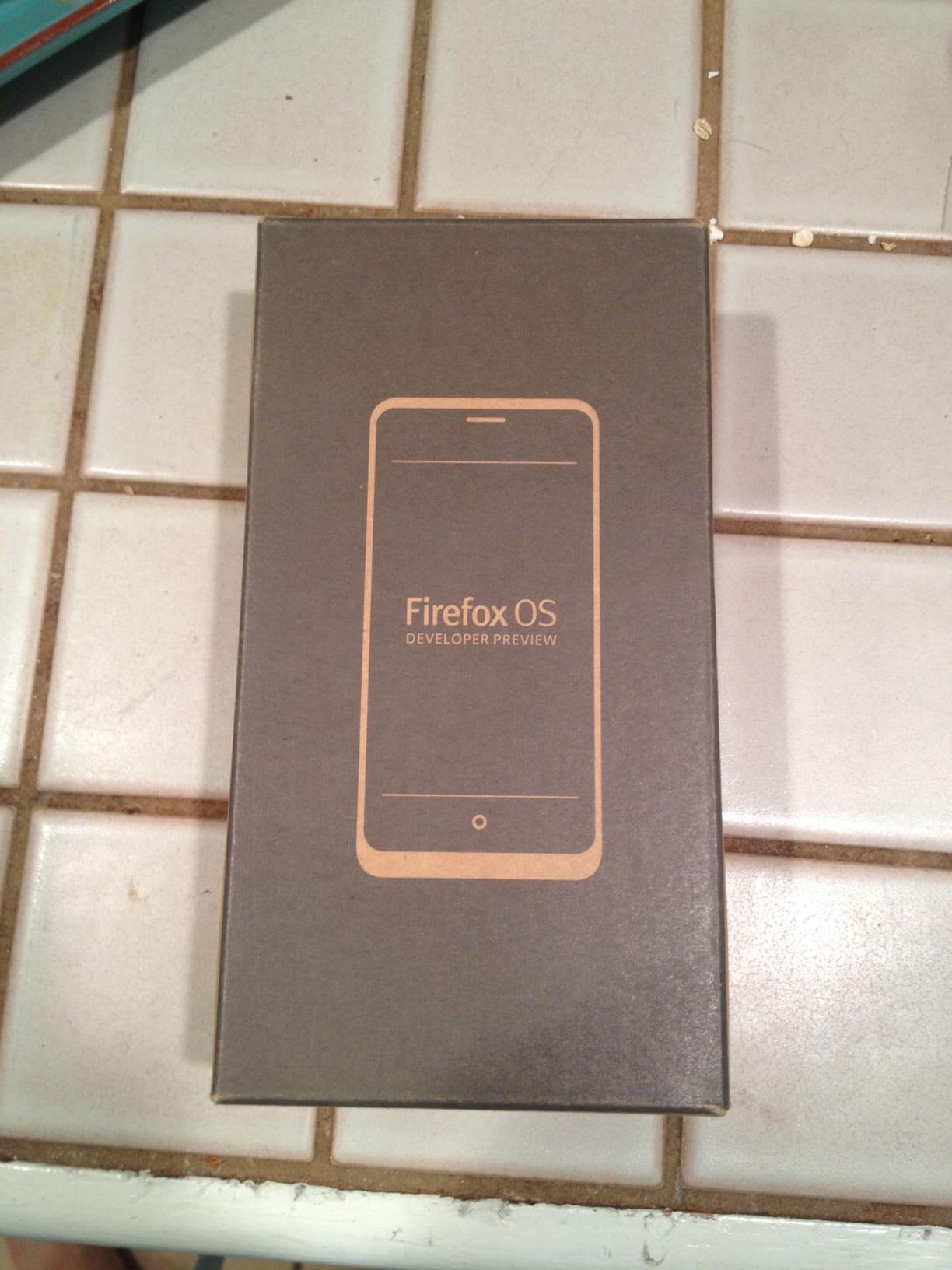 Geeksphone Peak Firefox OS Phone 1
