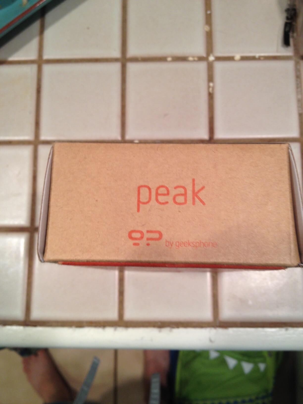 Geeksphone Peak Firefox OS Phone 2