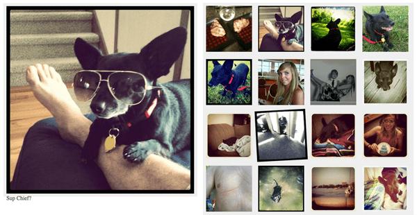 Instagram MooTools