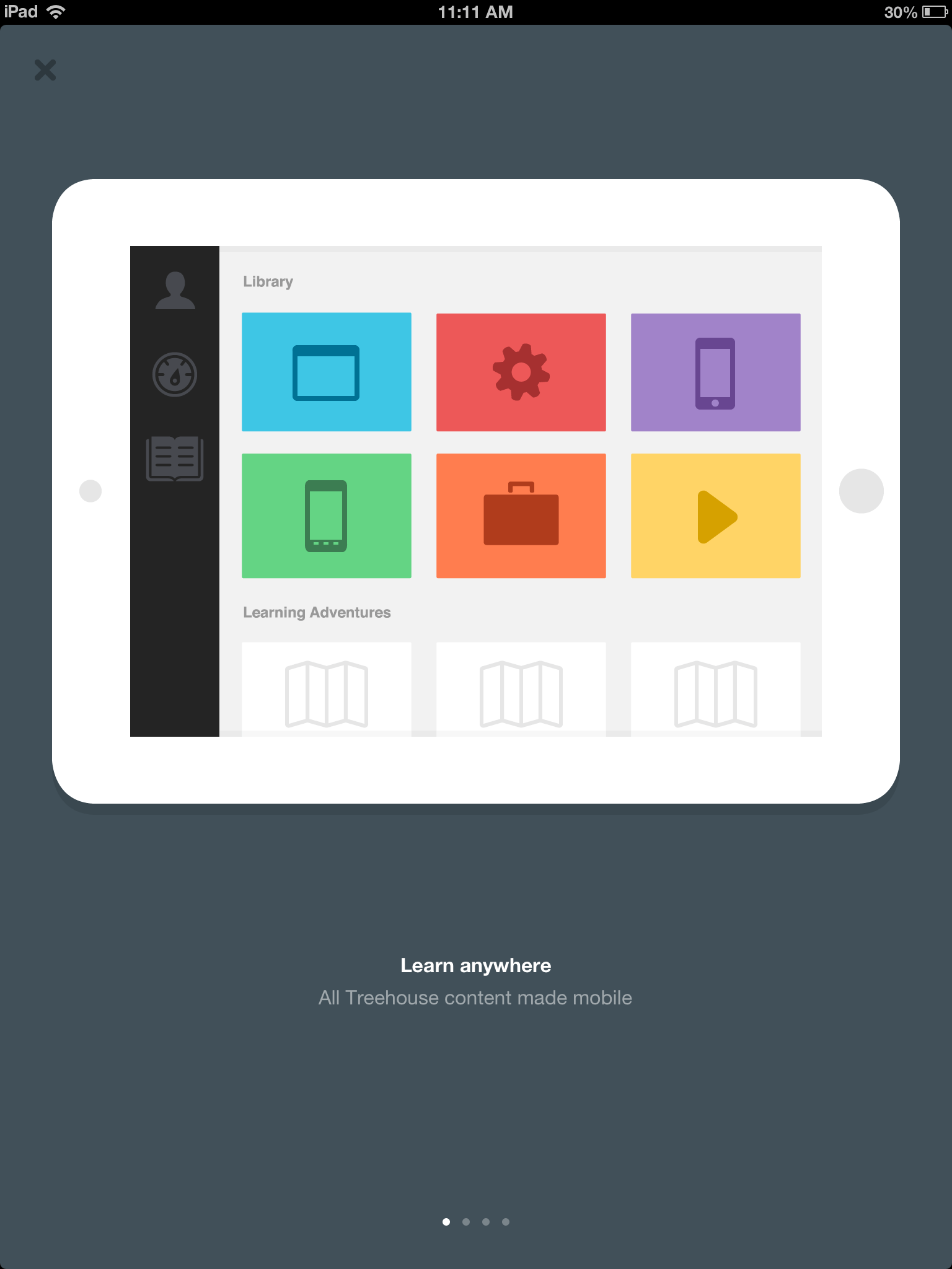 Treehouse iPad App