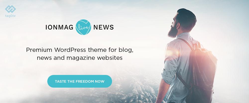 ionMag – Premium News WordPress Theme