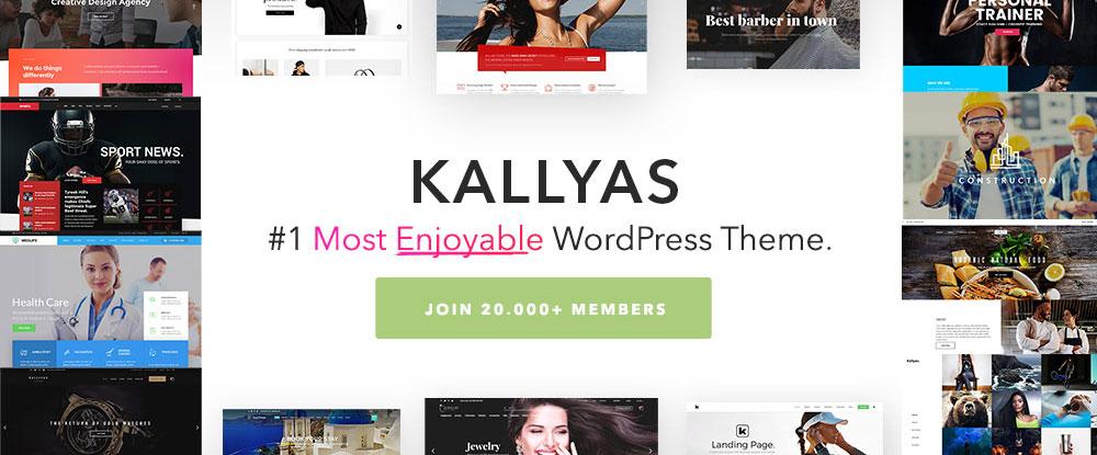 KALLYAS – Creative eCommerce Multi-Purpose WordPress Theme