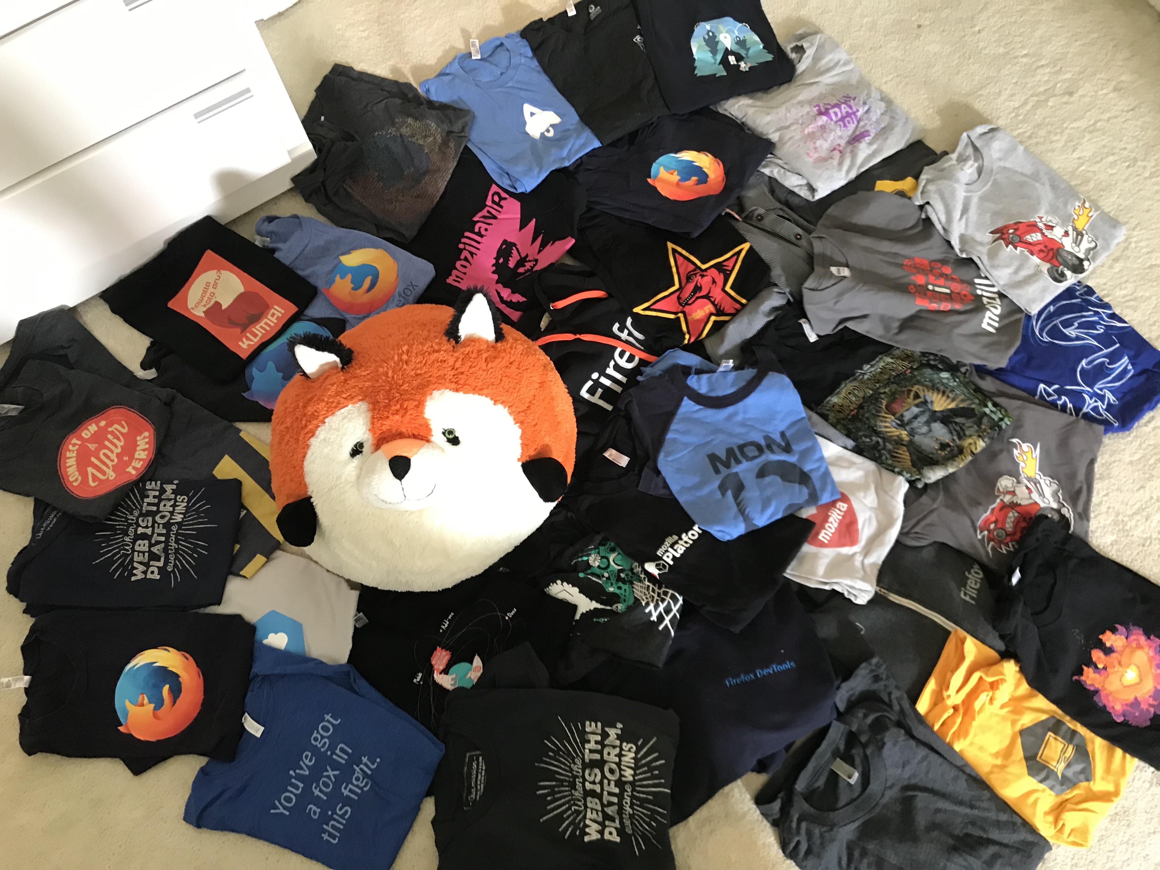 39 Shirts – Leaving Mozilla