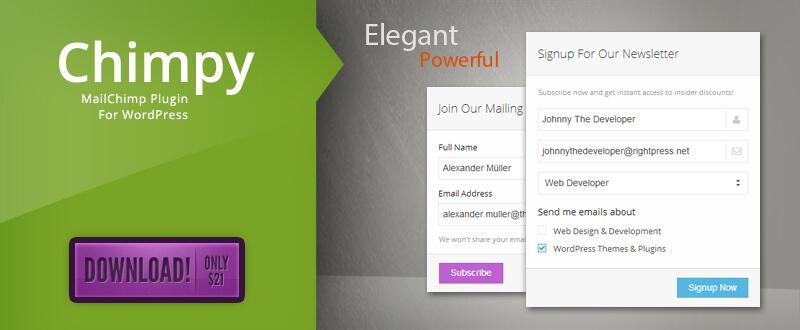 Chimpy - MailChimp WordPress Plugin