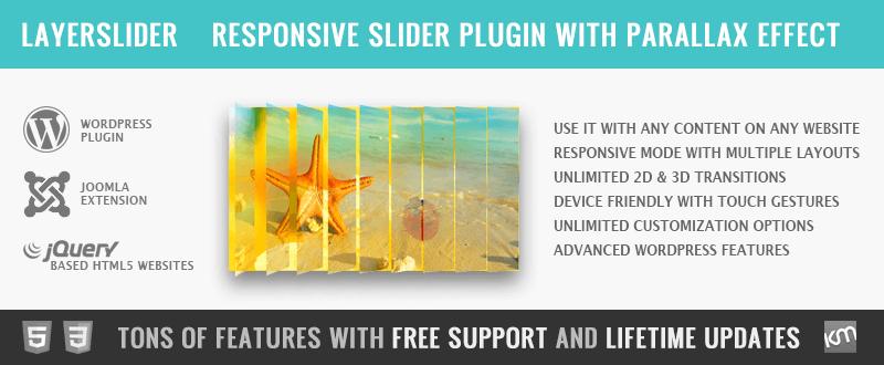 LayerSlider Premium Multi-Purpose Slider Plugin