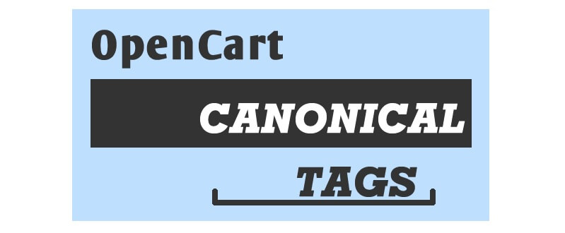 OpenCart Canonical URLs SEO Extension