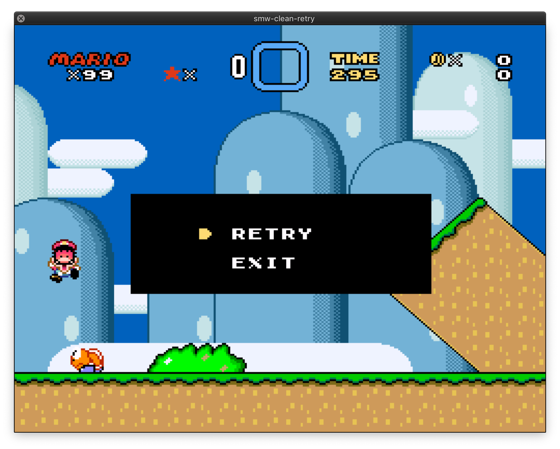 SMW Retry System