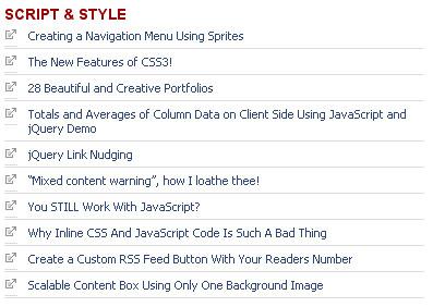 David Walsh Script & Style feed