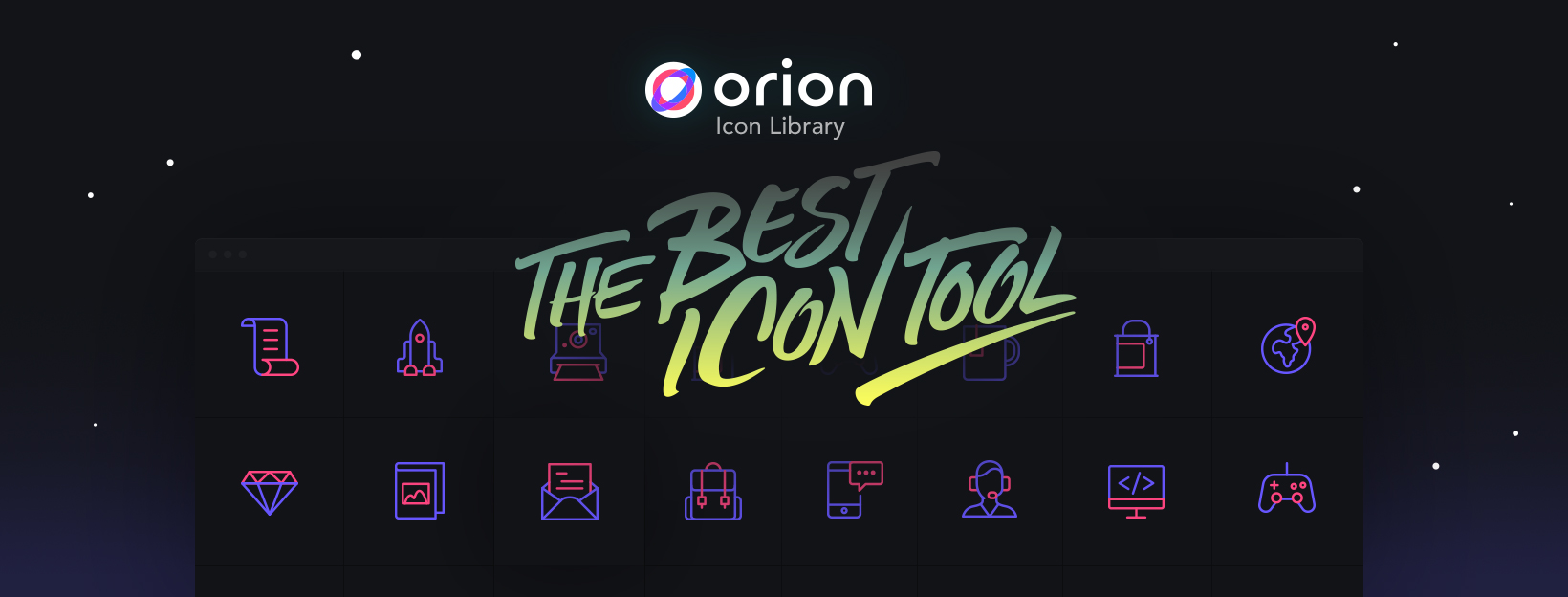 Orion - 6014 Free SVG Vector Icons