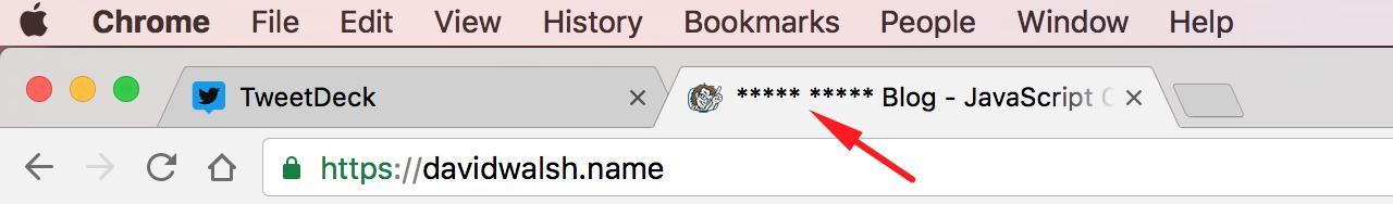 Web Extension Tab