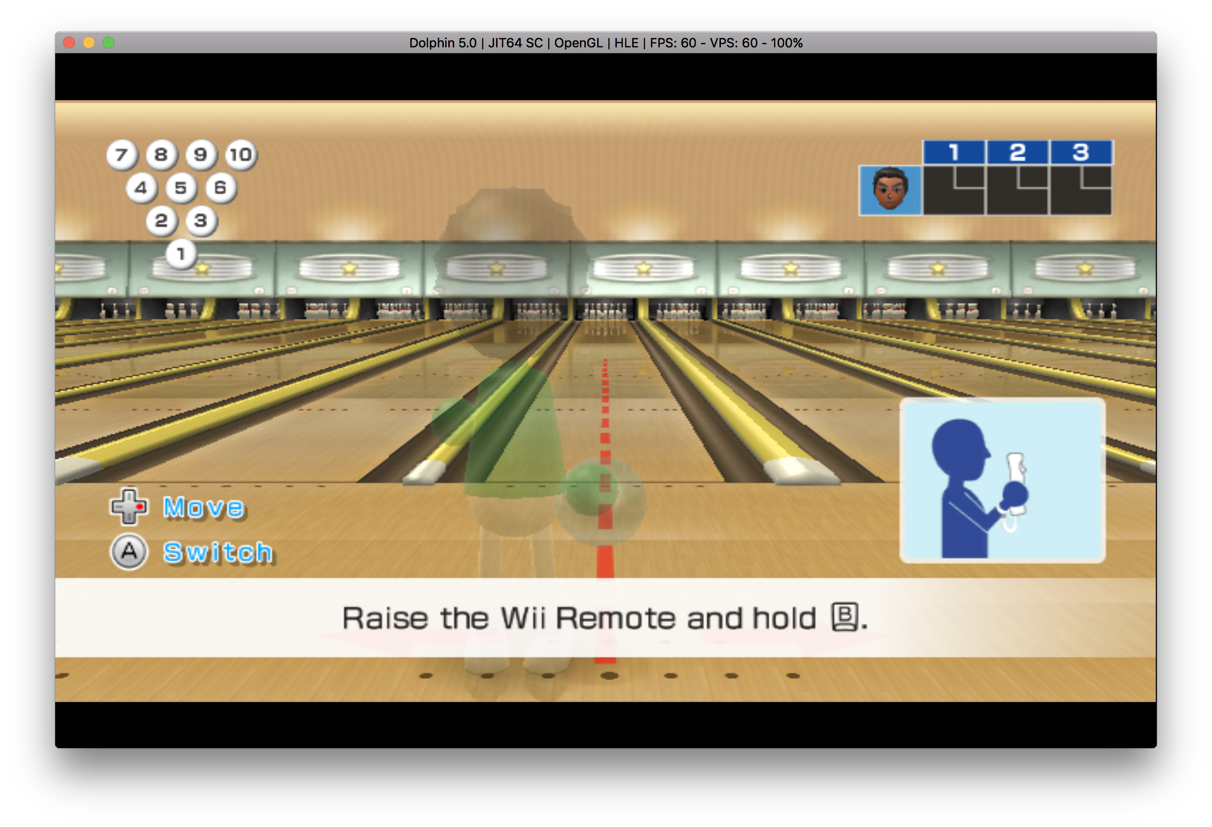 Play Wii Games on Mac
