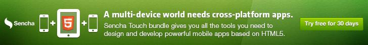 Sencha Touch Mobile Framework